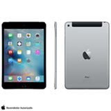 "iPad Mini 4 Space Gray com 7,9"", Wi-Fi, 4G, iOS 9.0, Processador A8 e 64GB"