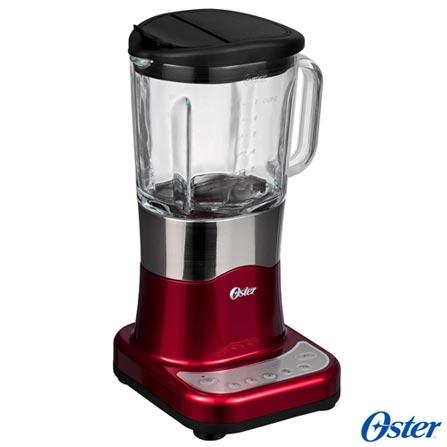 Liquidificador Oster Delighter Vermelho com 06 Velocidades e Jarra com 1,75 Litros - BLSTDG-R00 - OSBLSTDGR0VRM